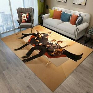 The Beatles Rug, Area Rug, Non Slip Floor Carpet, Teen's Carpet 100x150 cm