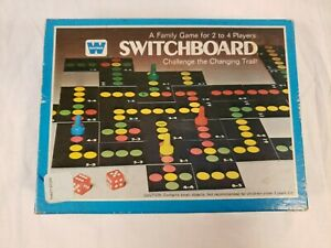 SWITCHBOARD Family Game Vintage 1976 Whitman Western Publishing #4423