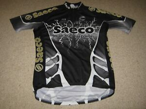 Saeco Cannondale Black Lightening 2001 Italian cycling jersey [XXL]