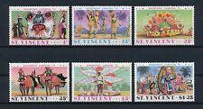 St.Vincent #401-6 MNH, Carnival, 1975