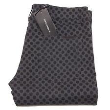 3884O jeans DOLCE & GABBANA grigio nero 14 stretch pantaloni uomo pants men