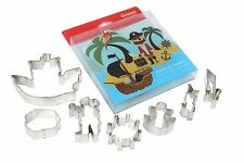 Dexam Set of 7 Treasure Island Cookie Cutter Set -  Pastry, Biscuits