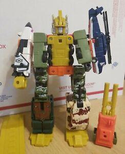 G1 BALDIGUS BRUTICUS Combaticons Combiner D-011 Transformers ROBOT ruination toy