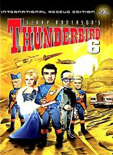 GERRY ANDERSON'S Thunderbird 6 (NEW DVD,1968, International Rescue Edition)