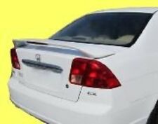 PAINTED FOR HONDA CIVIC 4DR 2001 2002 2003 2004 2005  SPOILER WING ALL COLORS
