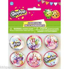 SHOPKINS Rubber BOUNCE BALLS Birthday Party Supplies Loot Treat Bag Favors