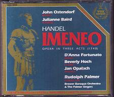 HANDEL: IMENEO John Ostendorf Julianne Baird Fortunato Opalach Rudolf Palmer 2CD