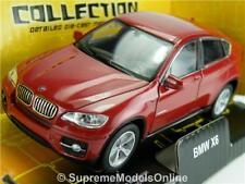 BMW X6 CAR MODEL 1:38 SIZE RED COLOUR OPENING DOORS VERSION WELLY R01