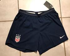 NWT NIKE VAPORKNIT USA Women's National Team USWNT BLUE Soccer Shorts Women XL