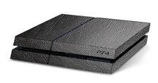 Sony Playstation 4, PS4 3D Aufkleber/Sticker / Folie. 3D Leder, schwarz
