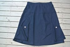 Below Knee A-Line Machine Washable 100% Cotton Skirts for Women