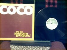 """COCO & THE LONESOME ROAD BAND 12"""" 33rpm LP 1981 NM- COUNTRY ROCK VERMONT BAND"""