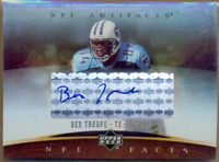 2007 Artifacts NFL Facts Autographs Football Card Pick