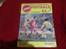 "RARE! ALBUM PANINI ""FOOTBALL 82 1982"" complet"