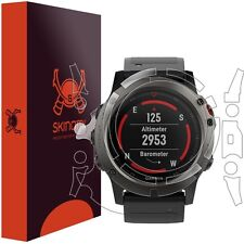 Skinomi FULL BODY Clear Watch Skin+Screen Protector for Garmin Fenix 5x