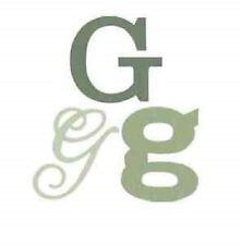 "Quickutz / Lifestye Crafts (Monogram-G01) ""Monogram G"" (3 Die Set) NEW"