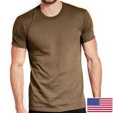 Soffe 3-Pack Tan OCP T-Shirt, 50/50 Cotton Poly