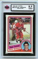 1984-85 Topps #49 Steve Yzerman RC Graded 8.5 NMM+ (*G2020-145)