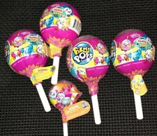 PIKMI POP SURPRISE! LOT OF 4 MEDIUM LOLLIPOP & 1 SMALL LOLLIPOP BRAND NEW