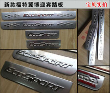 Ford- Ecosport-Chrome-Door-Sill-Covers-Protectors-4-in-one-New