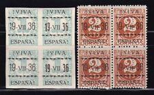 España - VITORIA - Emisiones Locales Patrióticas - Bloque 4 -  MNH