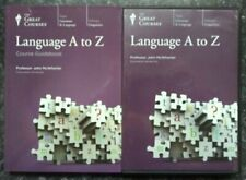 Language A to Z by Professor John McWhorter Great Courses guidebook & 6 CDs