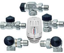 Heimeier Heizkörper Thermostatventil 3/8 1/2 3/4 Eck Winkeleck Durchgang Axial