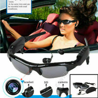 DVR Sunglasses with Mini Spy Camera Video Recorder Audio MP3 Player Eyewear New