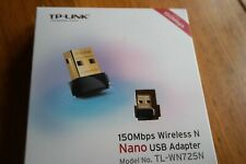 TP-Link TL-WN725N N150 150Mbps Wireless Nano USB WiFi Network Adapter New
