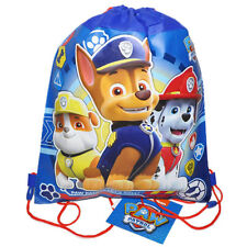 12PC PAW PATROL Sling Bag Drawstring Backpack BIRTHDAY PARTY FAVORS LOT