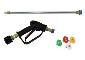 NEW Pressure Washer Quick Release Gun & Lance Wash Nozzles To Fit Stihl/Nilfisk