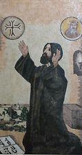 Blessed Holy Saint Charbel Lebanese Saint Faith Christian Marble Mosaic FG815