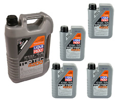 9 Liters Liqui Moly TOP TEC 4200  5w30 Synthetic Engine Motor Oil for Nissan