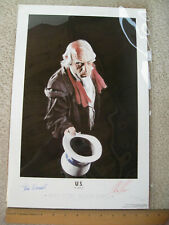 1997 SDCC Comic Book Expo EXCLUSIVE Alex Ross and Steve Darnall SIGNED 2x   U.S.
