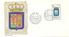 1964 SPD ESCUDO DE LOGROÑO EDIFIL 1555 SPAIN SHIELD LOGROÑO FDC  TC10495