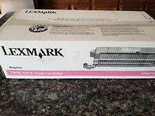 GENUINE LEXMARK 2N0768, 12N0769, 12N0770 Magenta Toner Cartridge