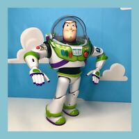 Disney Power Up Buzz Lightyear Talking Action Figure, THINKWAY TOY toy story