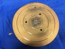 Gold Plate Vacuum chuck  6inch prober chuck (bottom connection)