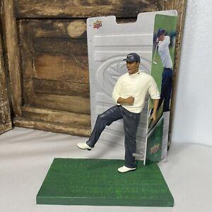 Tiger Woods Upper Deck Pro Shots Golf Figure Statue Display Doll Series Tiger 1