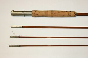 MADE BY GOODWIN GRANGER COMPANY DENVER bamboo fly rod Granger Champion NR