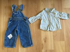 American Girl Kit's Overalls and shirt for 18 in dolls from overalls outfit
