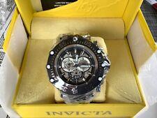 Invicta Subaqua Noma VII 52MM Swiss Quartz Chrono Meteorite Bracelet 32110