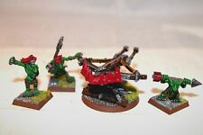 Warhammer Orcs and Goblins Spear Chukka Well Painted