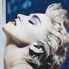 MADONNA TRUE BLUE 180 GRAM CLEAR VINYL LP + POSTER (Released 8/11/19) NEW