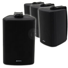 More details for 4x adastra wall mount speakers 100v line background music system 240w uk stock