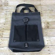 Chrome Industries Roll Top Messenger Bag - Gray Nylon
