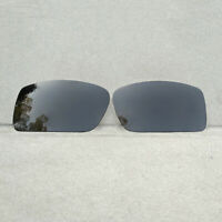 Polarized Black Replacement Lenses for-Oakley Gascan Sunglasses