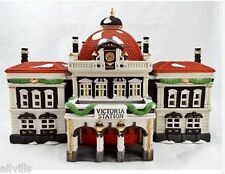 VICTORIA STATION #55743 NIB DEPT 56 RETIRED DICKENS VILLAGE