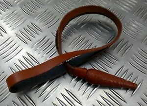 Genuine Military Issue Officers Ceremonial & Parade Brown Leather Sword Knot