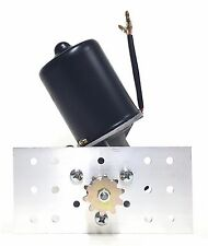 Makermotor Gear Motor 12v DC 50 RPM Gearmotor Roller Chain Sprocket + Bracket